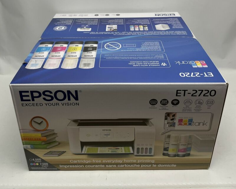 Epson EcoTank ET-2720 All-in-One Wireless SuperTank Color Printer