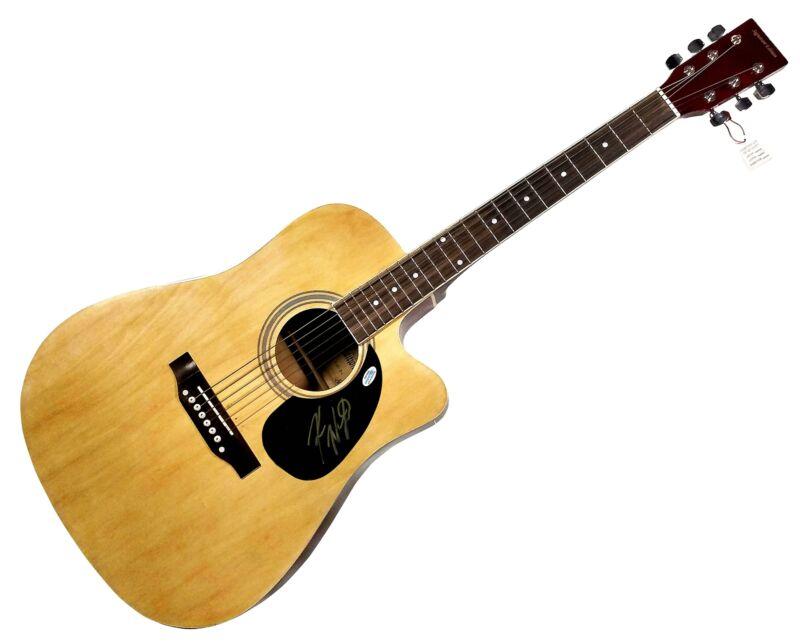 Koe Wetzel Autographed Signed Guitar ACOA