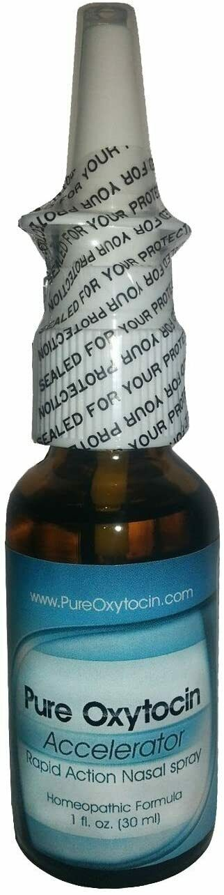 Pure Oxytocin All Natural Sublingual Spray 1 oz -Stress Relief, Anxiety