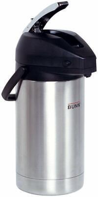 Bunn 32130.0000 3.0-liter Stainless Steel Lever-action Airpot