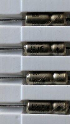 New Capacitor Cap Tantalum Wet 10uf 50v M39006 22h0344