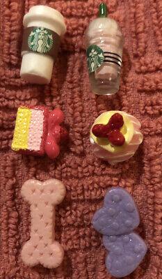Littlest Pet Shop *6 PC Accessory Lot* Custom LPS Accessories Food