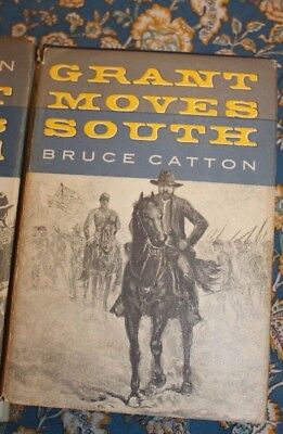 Grant Moves South by Bruce Catton 1960 Hard cover with dust jacket        LOTAVR
