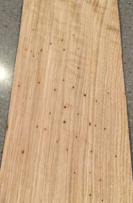 Wormy Chestnut Wood Veneer 9 Sheets 20 X 9.5 11 Sq Ft