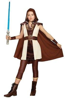 Resistance Rebel Rey Jakku Scavenger Galaxy Hero Hooded Cape Tween Girl (Galaxy Girl Kostüm)
