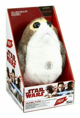 Star Wars Funko PORG Talking Plush with Original Movie Sounds Episode VIII 8....