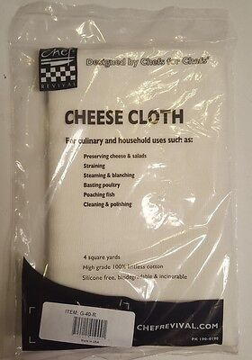 Chef Revival Cheese Cloth PK 190-0190 4 Square Yards