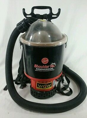 Hoover C2401 Commercial Openly Vac Pro Backpack Vacuum Cleaner