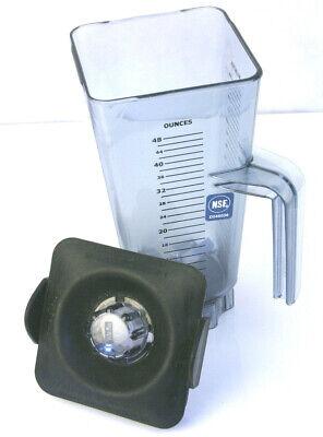 Vitamix Vita-mix Asy172c Blender Jar 48 Oz With Lid Commercial Nsf