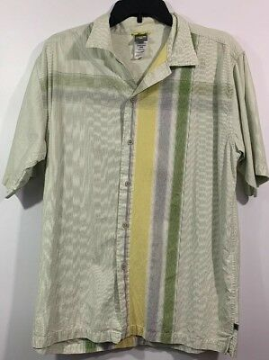 THE NORTH FACE MEN'S SHORT SLEEVE BUTTON FRONT SHIRT SIZE MEDIUM