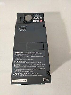 New Mitsubishi Fr-a720-00050-na 200-240v .2-400hz Spindle Inverter Vector