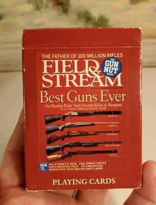 Field & Stream Best Guns Ever collectible EUC complete magazine cover gun nut