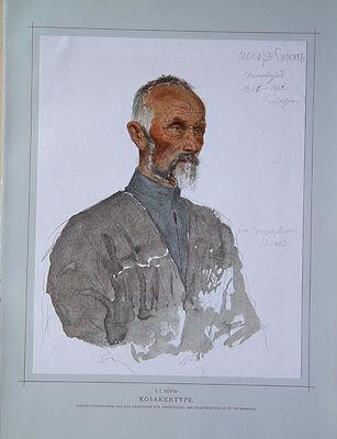 Ilja Repin Finnland Tschugujew Kosaken Portrait Kosak Atamenen Hetmanen Kasachen