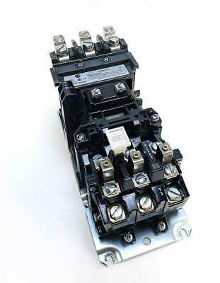 Allen Bradley 500f-cod930 3 Pole Size 2 Motor Starter W120v Coil
