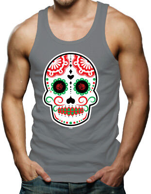 Cinco De Mayo Mask (Cinco De Mayo Skull - Mexico Celebration Drink Mask Margarita Tank)