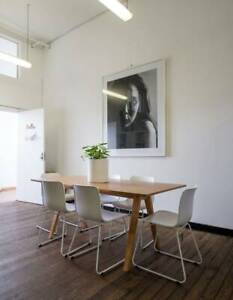 Desk space available in Surry Hills creative warehouse building