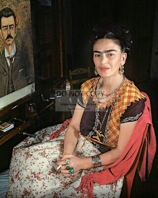 FRIDA KAHLO MEXICAN PAINTER - 8X10 PHOTO (WW167) - Frida Kahlo Photographs
