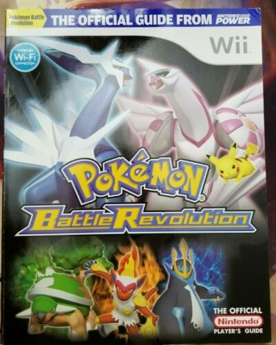 Pokemon Battle Revolution Nintendo Official Strategy Guide Book Wii