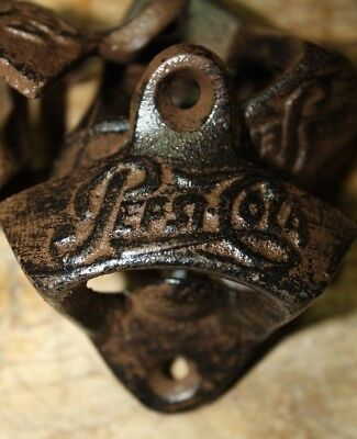 Cast Iron PEPSI COLA Wall Mounted Bottle Opener Nostalgic