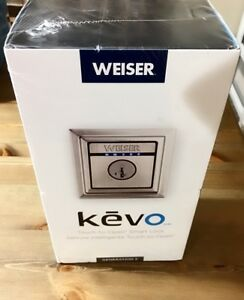 Weiser Kevo Contemporary Electronic Deadbolt Satin Nickel