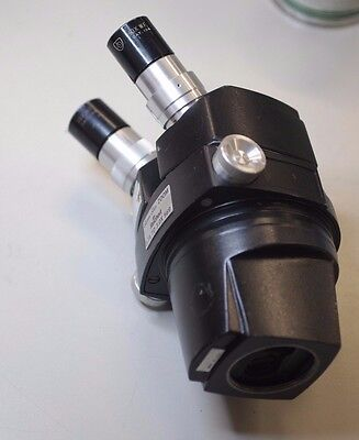 Reichert Stereo Star Zoom 0.7x - 3.0x Microscope Head Black