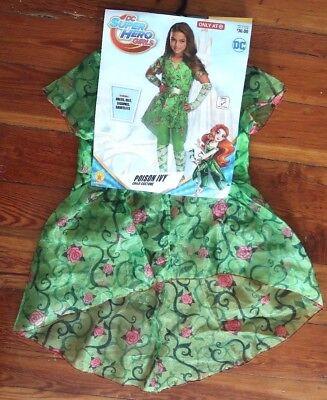 DC Super Hero Girls POISON IVY Halloween Costume child kids size SMALL nolegging](Poison Ivy Kids Costume)