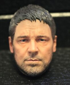 Custom-made-russell-crowe-gladiator-1-6-figure-HEAD-ONLY