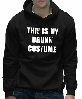 Das ist my Betrunken Kostüm Lustig Kostüm Party Halloween Kapuzenpulli
