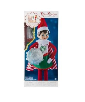 The Elf on the Shelf Claus Couture Collection Scout Elf Superhero Girl, New