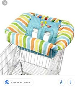 Baby cart cover / couvre panier pour bebw