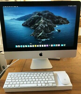 "Apple iMac 21.5"" Mid 2014 Core i5 1.4Ghz 8GB 500GB Desktop PC Catalina"