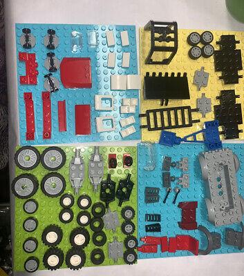 LEGO WHEELS TIRES  truck Rim LOT  no base plates