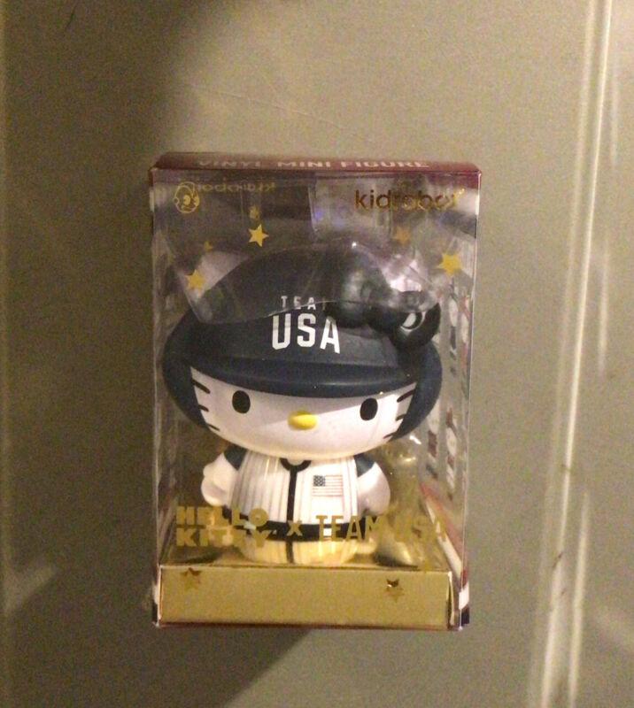 Hello Kitty Team USA KidRobot Vinyl Mini Series Baseball