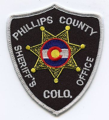 PHILLIPS COUNTY COLORADO CO SHERIFF POLICE PATCH