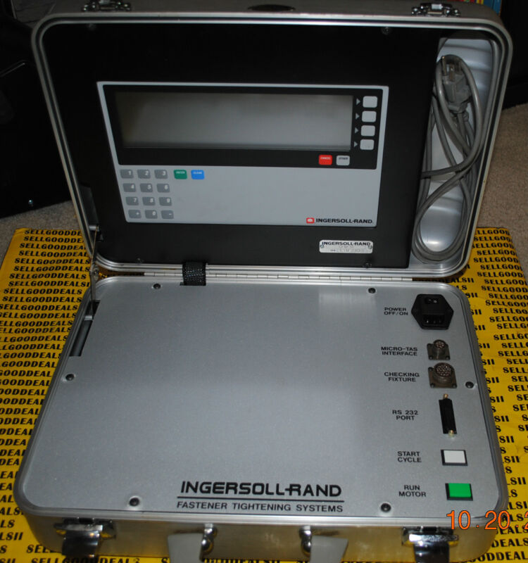 Ingersoll Rand Cfm-14 Fastener Tightening System Cfm14 Ir Used