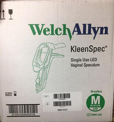 24pcs Kleenspec 59001-led Disposable Vaginal Speculum Single Use