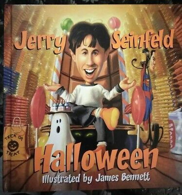 Halloween by Jerry Seinfeld. Illustrated by James Bennett (Byron Preiss Book)