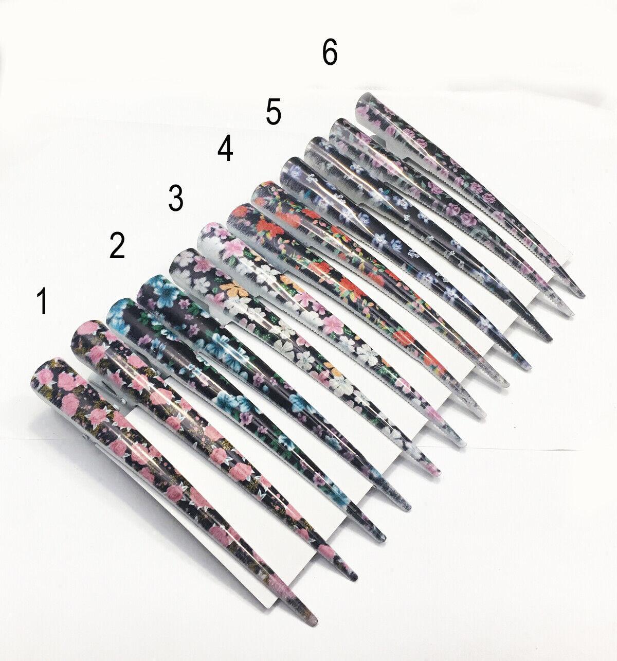 Haarspange  Clip Schnabelspange Alligatorspange Haarklammer Klemme 13cm (25)