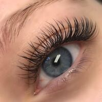 EYELASH EXTENSIONS FULL SET FOR 80$