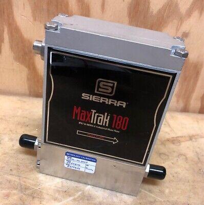 Sierra Max-trak Mass Flow Controller C180m-nr-3-ov1-sv1-pv2-v3-s4-wt-c20 Co2