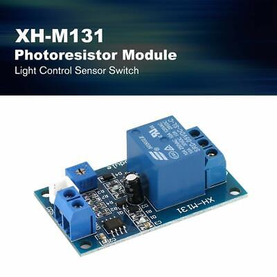 5v12v Light Control Switch Module Detection Sensor Xh-m131 Photoresistor Relay