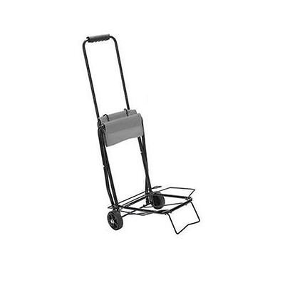 FOLDING SACK TRUCK HOLDS 50kg LUGGAGE SUITCASE CAMPING WAREHOUSE TROLLEY