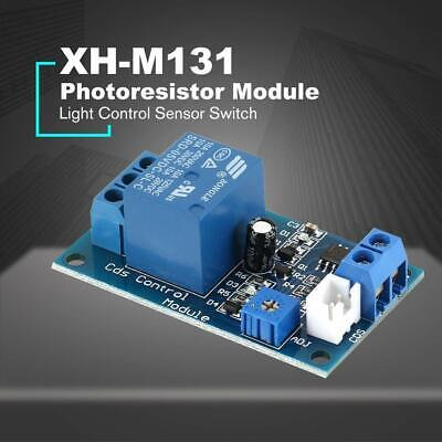 Xh-m131 Light Control Switch 5v12v Detection Sensor Photoresistor Relay Module