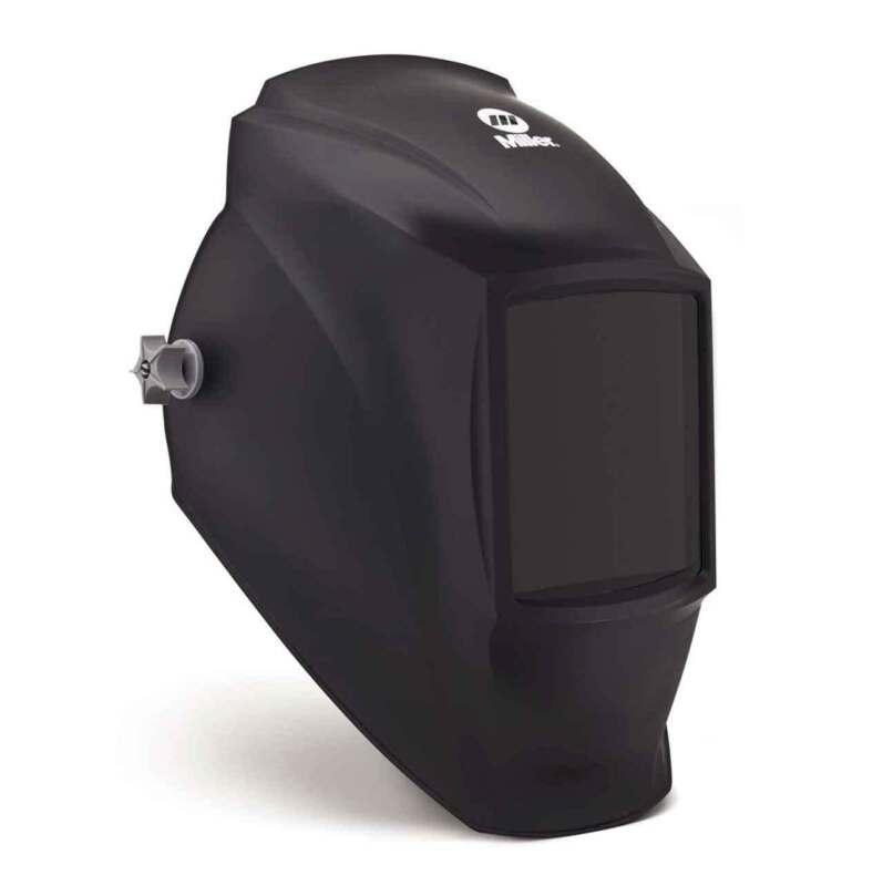 Miller 238497 Fixed Shade Welding Helmet, MP-10, Black
