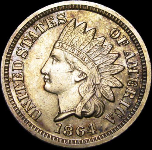 1864 Indian Head Cent Penny --- Copper Nickel --- #C143
