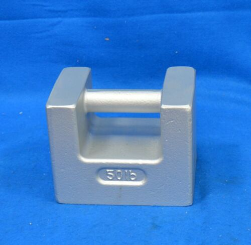 RICE LAKE WEIGHING SYSTEMS 50 lb Calibration Weight 12839