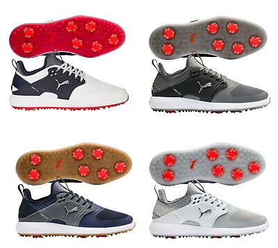 PUMA MENS IGNITE PWRADAPT CAGED SPIKED GOLF SHOES - NEW 2020 - PICK SIZE & COLOR