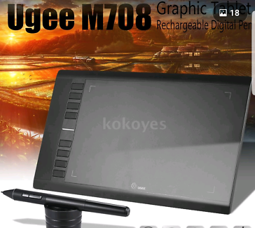 Digital art graphic drawing tablet painting board Pad