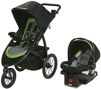 Graco Baby RoadMaster Jogger Travel System Jogging Stroller with Infant Car Seat