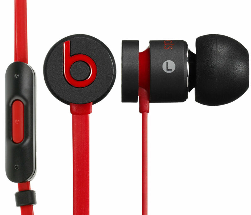 Beats by Dr. Dre urBeats In-Ear Only Headphones - Black/Red